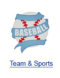 Team & Sports Embroidery Clipart