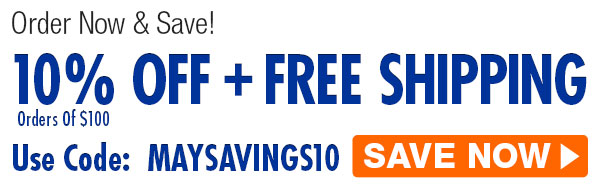 Order Now & Save! 10% Off + Free Shipping! Use Code: MAYSAVINGS10 (Orders Of $100) Click Here To Shop Now!