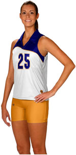 Flare sublimated volleyball jerseys
