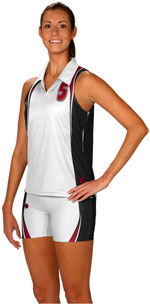 Jump servefull color sublimated volleyball jerseys and sublimated volleyball uniforms