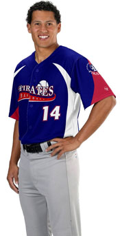 Bronco Custom Sublimated Baseball Jersey