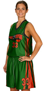 Baseline Custom Sublimated Basketball Jersey