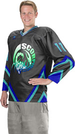 Crossfire Custom Sublimated Hockey Jersey
