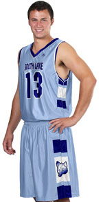 Triumph Custom Sublimated Basketball Jersey