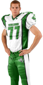 Fly Route Custom Sublimated Football Jersey