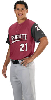 Alternate Sleeve Custom Sublimated Baseball Jersey