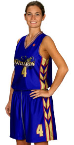 3 Pointer Custom Sublimated Basketball Jersey