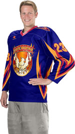 Blade Custom Sublimated Hockey Jersey