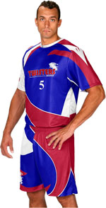 Top Shelf Custom Sublimated Soccer Jersey