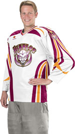 Firepower Custom Sublimated Hockey Jersey