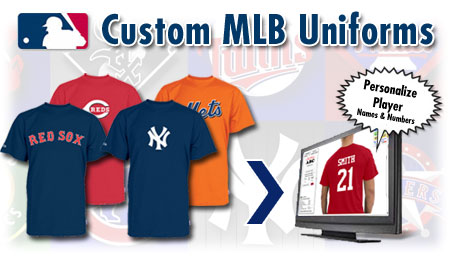 MLB baseball uniforms