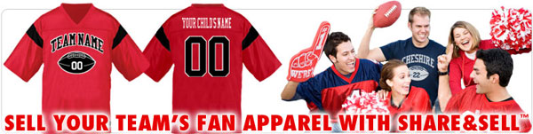 Raise money. Sell your team's fanwear.