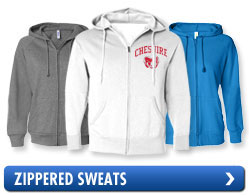 Zippered Sweats