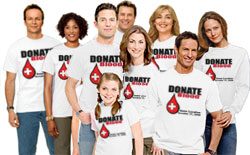 Custom Blood Drive Shirts And Custom Blood Drive Tees