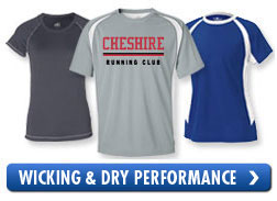 Wicking & Dry Performance T-Shirts